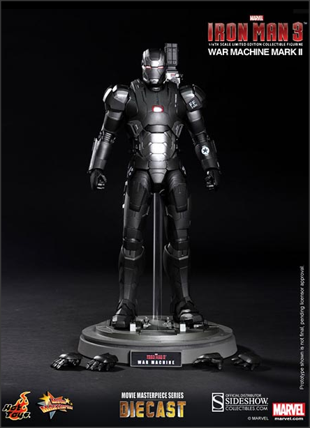 War Machine Mark II Iron Man 3 Hot Toys