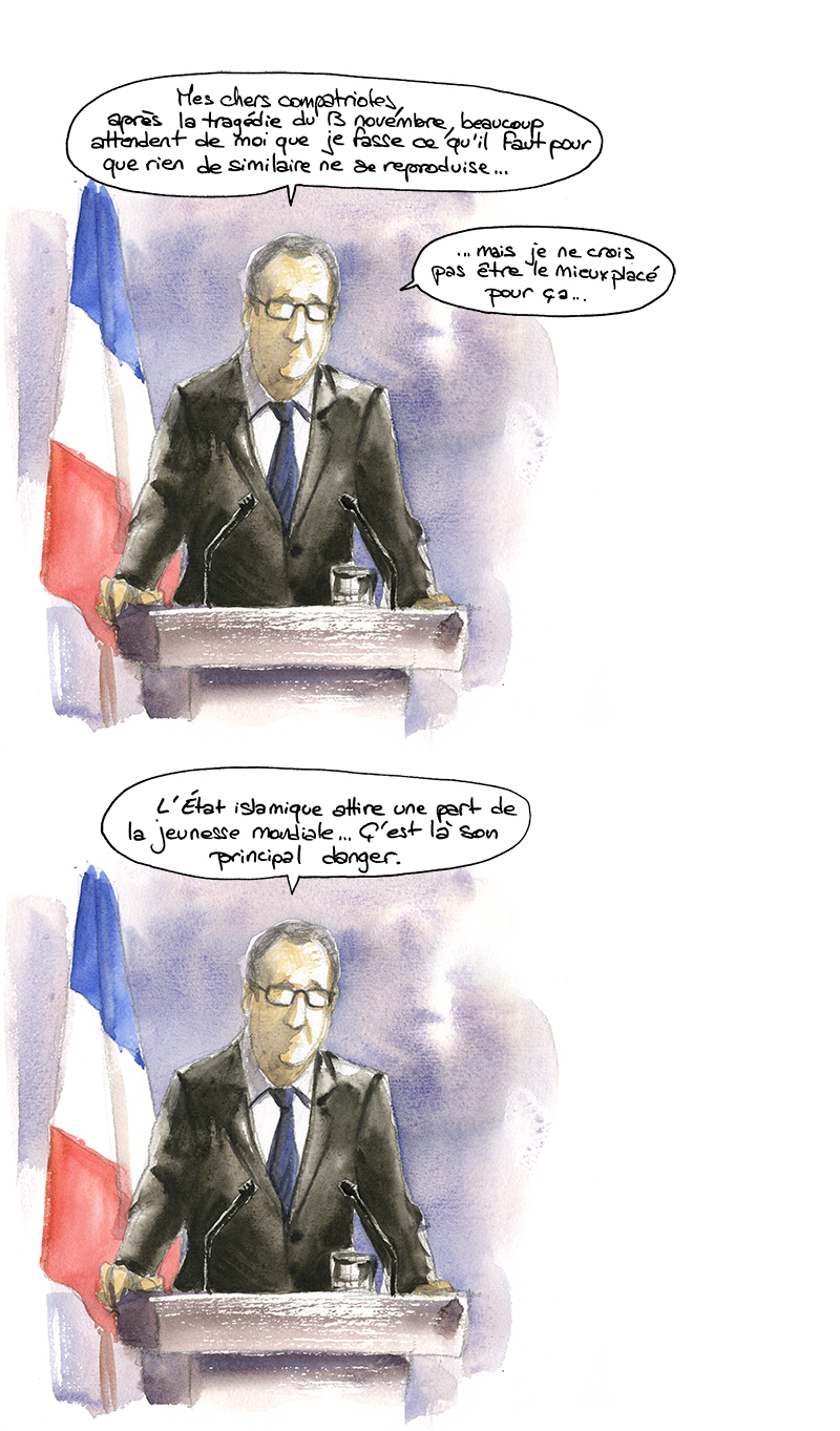 discours Hollande sur les Djihadistes