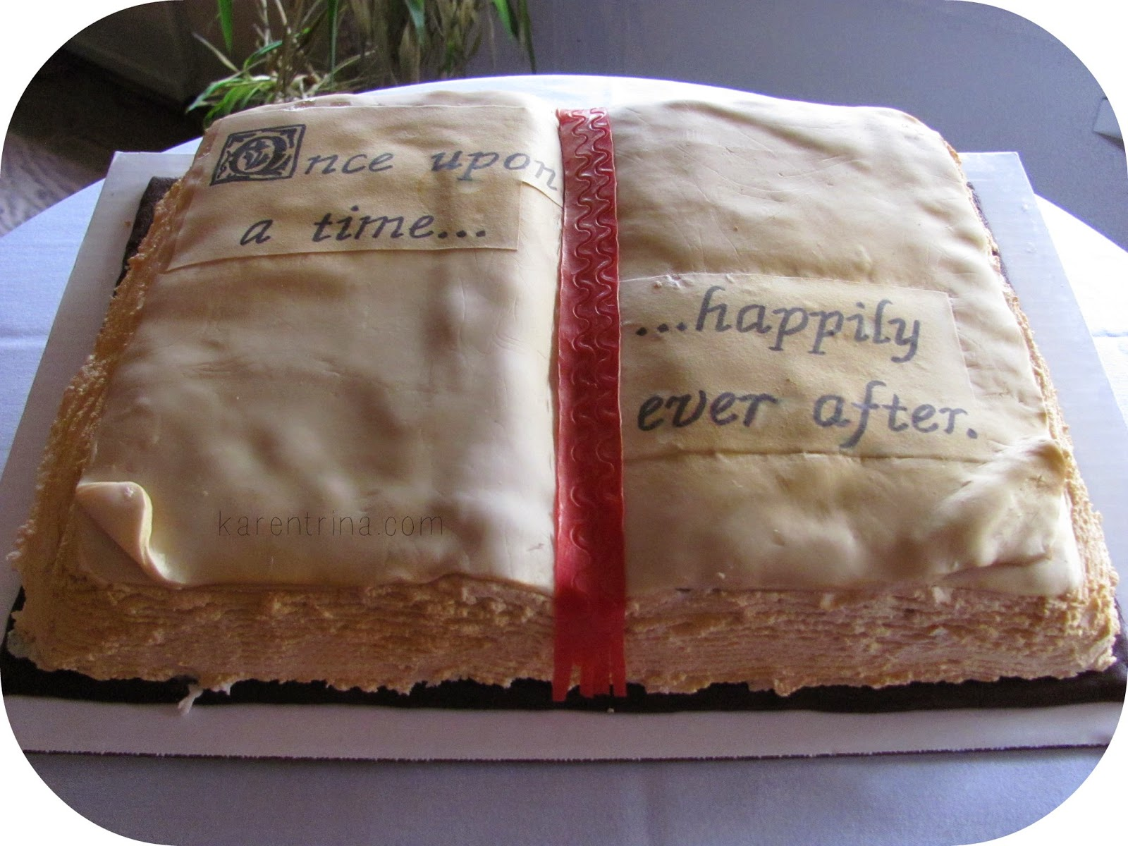 Open Book Cake Images : KarenTrina Childress : FAMILY FAVORITES FRIDAY: Open Book Cake