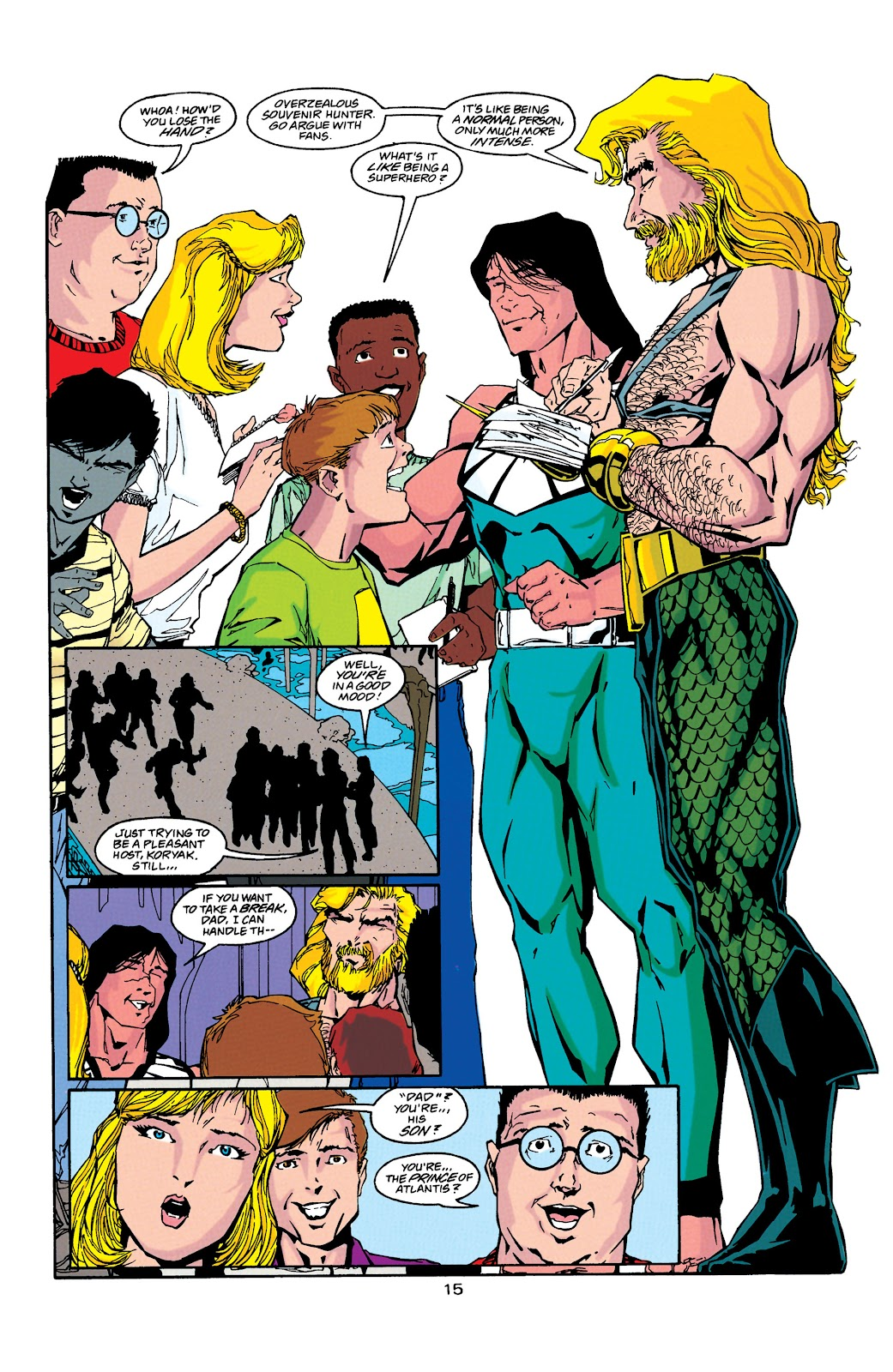 Aquaman (1994) Issue #38 #44 - English 15