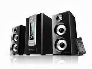 Sistem Audio 2.1 Channel Untuk Komputer