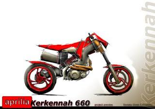 Aprilia Kerkennah Auto Concept Supermotard