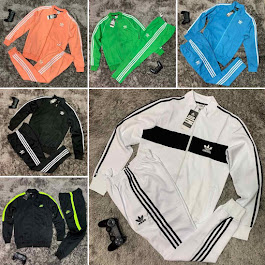 Addidas Track Suit (Sizes available)
