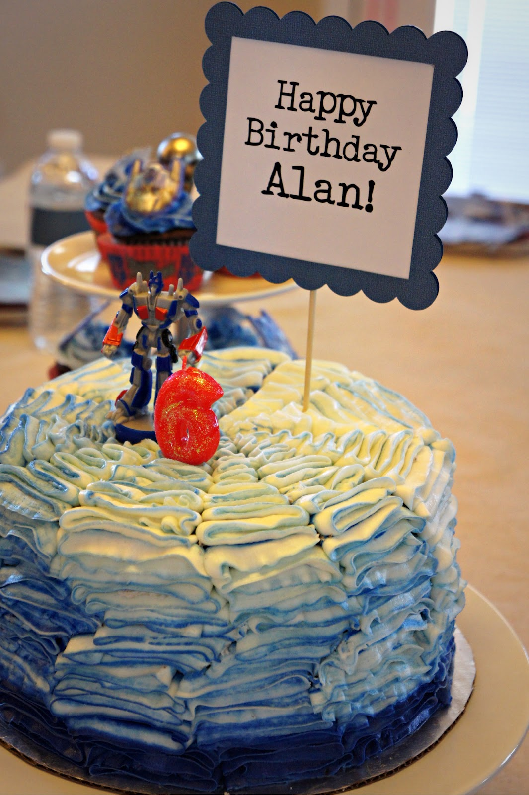 Alans Transformers Birthday Party and a Winner