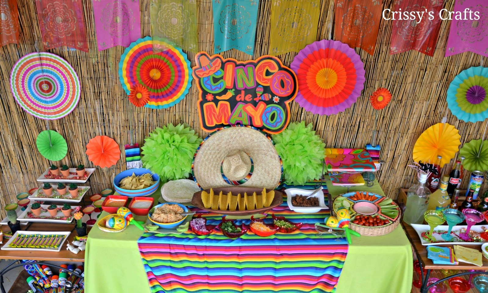 Mexican fiesta table decorations car interior design for Decoration de table