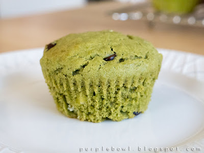 Green tea muffins recipe
