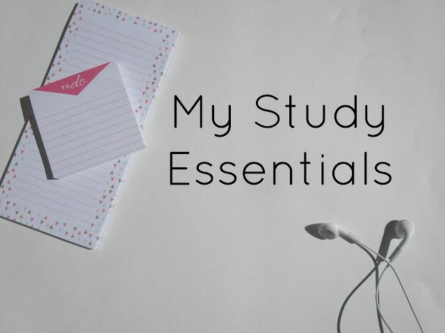 My Study Essentials