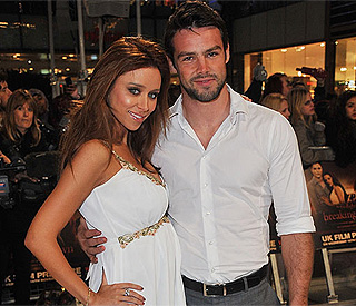 Saturdays singer Una Healy with husband Ben Foden