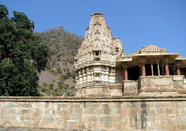 Temple at Bhangarh Fort