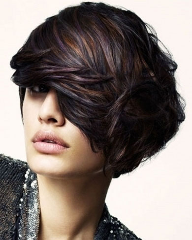 Dark Hair Highlights 2014