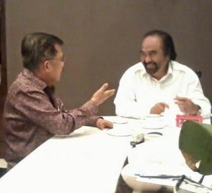 Pembicaraan Pertemuan Jusuf Kalla dengan Surya Paloh