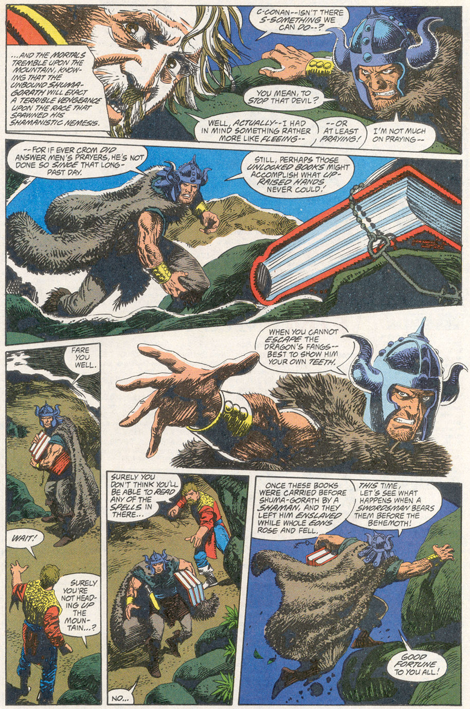 Conan the Barbarian (1970) Issue #260 #272 - English 17