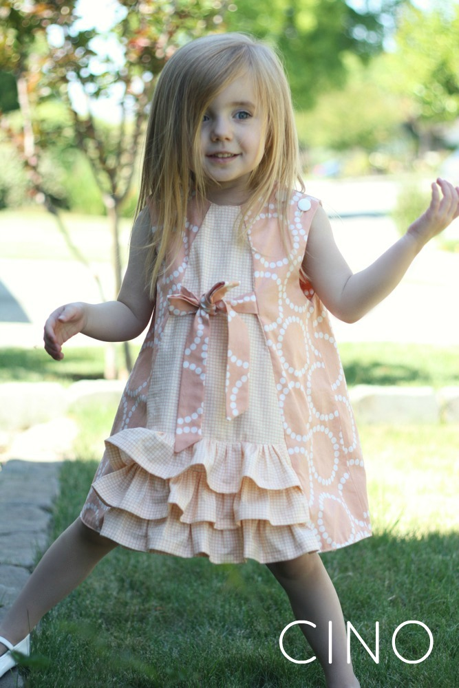 Cottage Mama Ruby Dress Pattern Review And Giveaway
