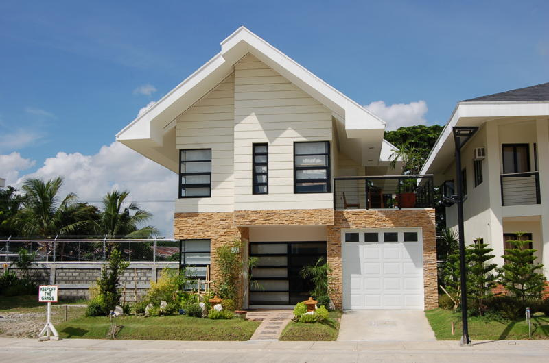 New home designs latest modern american home exterior for Small house exterior design philippines