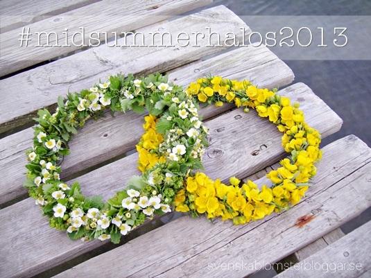 #midsummerhalos2013, midsommarkransar svenska blomsterbloggar, midsummer halos, midsommarkransar