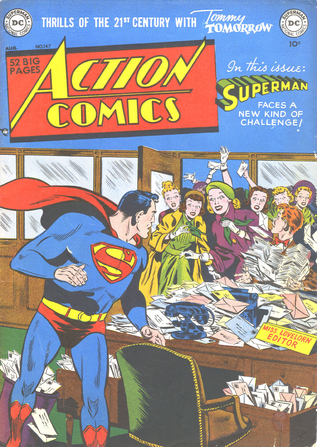 Action Comics (1938) 147 Page 1