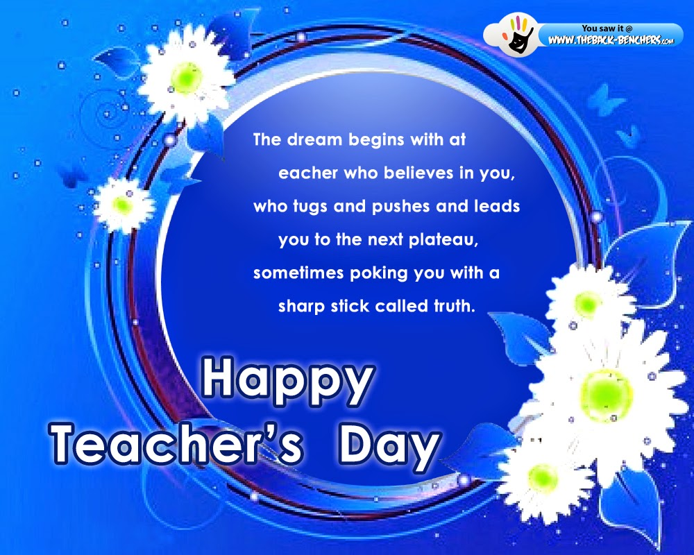 Teachers Day Greeting Card Messages