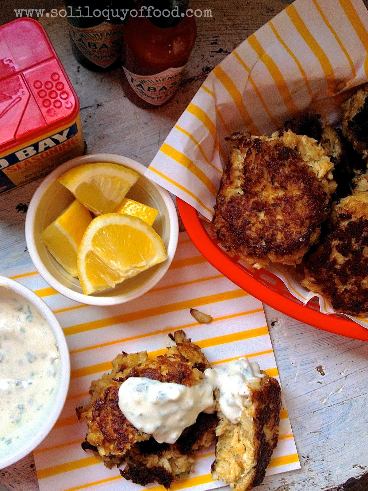 Tartar Sauce, anyone?  That's a rhetorical question in our house!  - Maryland Crab Cakes -  www.soliloquyoffood.com
