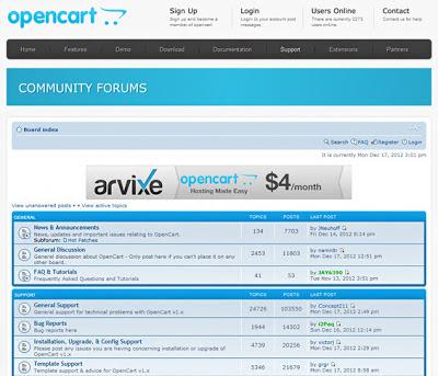 OpenCart Forum