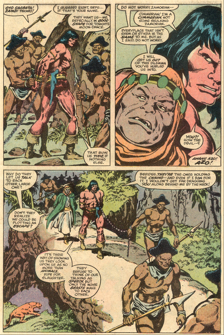 Conan the Barbarian (1970) Issue #108 #120 - English 12
