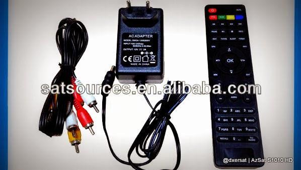 STB AzSat S1010 HD Accesorios del contenido