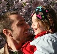 Jag och mitt äldsta barn i Kungsträdgården