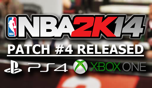 NBA 2K14 Next-Gen Patch 4 Released Notes