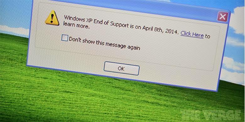 Pakai Windows XP, Siap-siap Kaget Tiap Tanggal 8