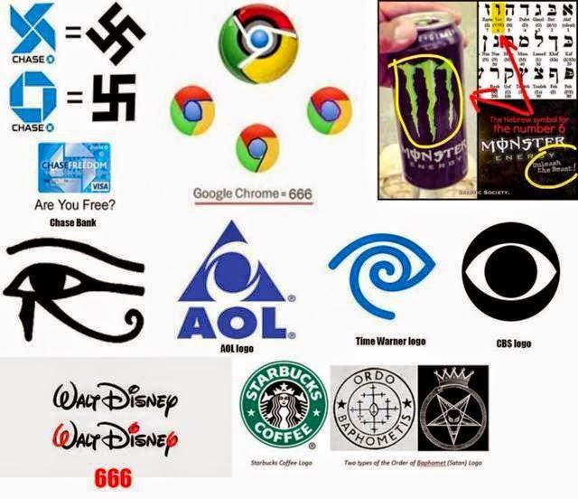Các biểu tượng của Hội Tam Điểm - Illuminati trên logo các tập đoàn