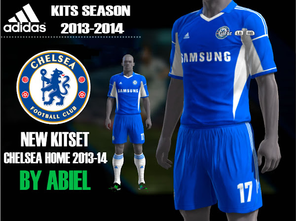 PES 2013 Chelsea FC 2013/14 Kits by Abiel