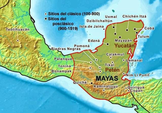 Antiquus: Los mayas. Una civilización selvática.