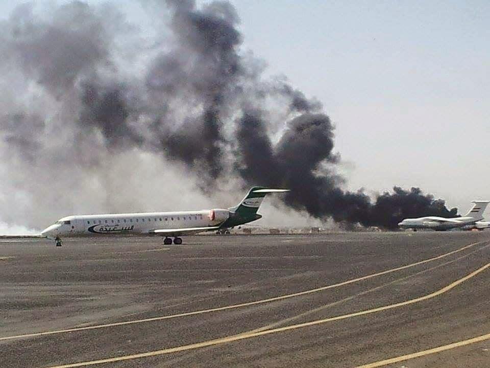 Pesawat Iran Mau Mendarat di Bandara Yaman, Jet Tempur Koalisi Membombardir Runway Bandara