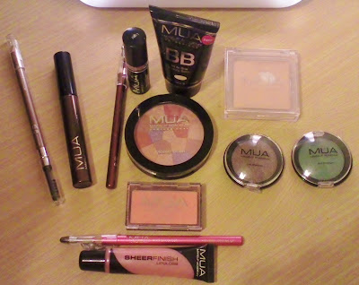 MUA Cosmetics Everyday Look