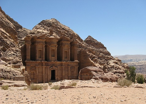 Monte Nebo - Moab, Moisés em Canaã