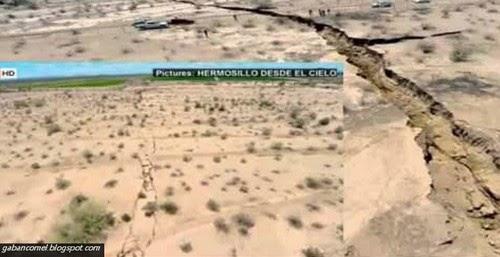 Aneh Misteri Tanah Retak di Mexico VIDEO