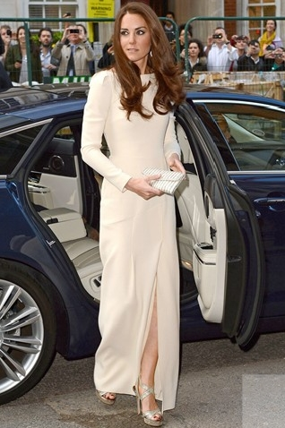 Catherine's simple dress