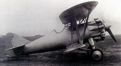 Один из опытных экземпляров истребителя И-6.