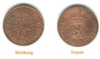 Koin Neherlansch Indie 1945