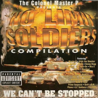 Master P - No Limit Soldiers Compilation: We Can't Be Stopped (1998) Flac