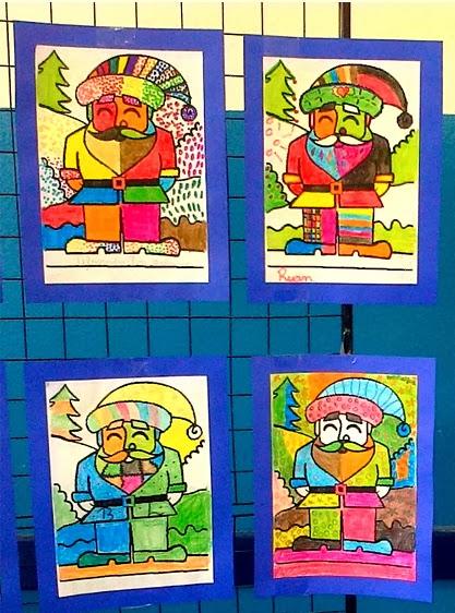 Releituras de Romero Britto com tema natal