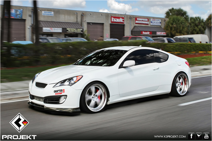 motor roar k3 projekt 2011 hyundai genesis coupe. Black Bedroom Furniture Sets. Home Design Ideas