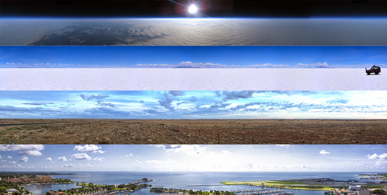 No Curvature On Bodies Of Water   Flat-earth-is-flat