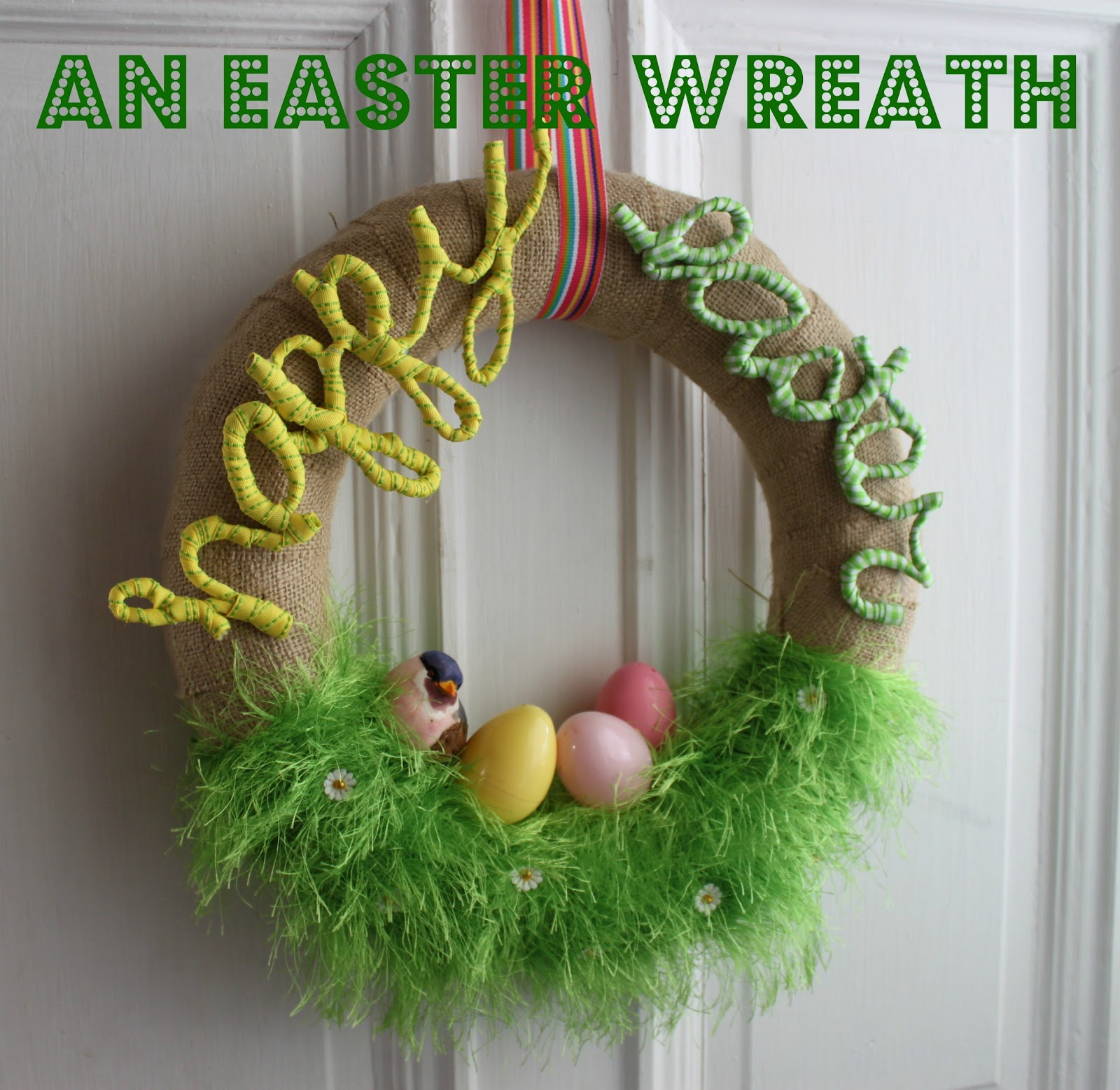 Let S Make An Easter Wreath Bare Feet On The Dashboard