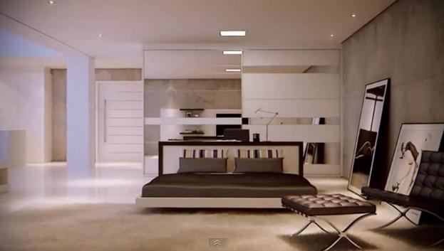 Decoracion loft minimalista diseno de interiores - Diseno de lofts interiores ...