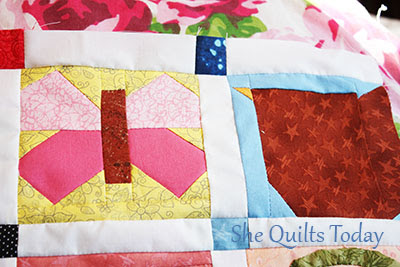 Paper Piecing Blocks Quilt