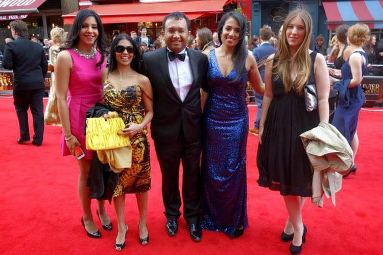 Olivier Awards Red Carpet 2015
