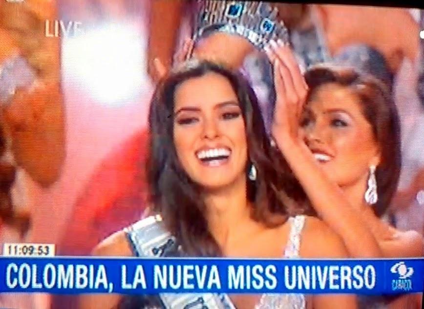 Video | Paulina Vega, señorita Colombia, es la Miss Universo 2014-2015
