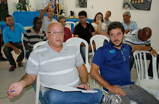 Representantes das secretarias de esportes de Teresópolis, Três Rios, Carmo, Cantagalo e Areal (FOTO 02)