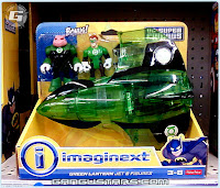 Fisher-Price Imaginext DC Super Friends Green Lantern jet bonus Kilowog アメコミ バットマン イマジネックスト