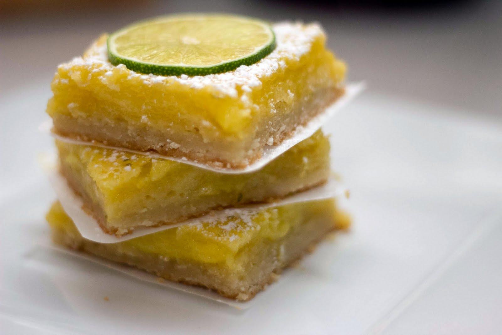 Lime Bars Recipe — Dishmaps